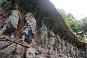 大足宝顶山石刻、北山石刻、 昌州古城品质一日游