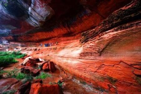 <纯味>赤水大瀑布、佛光岩、四洞沟、燕子岩、   中国侏罗纪公园、丙安古镇、笑动赤水三日游