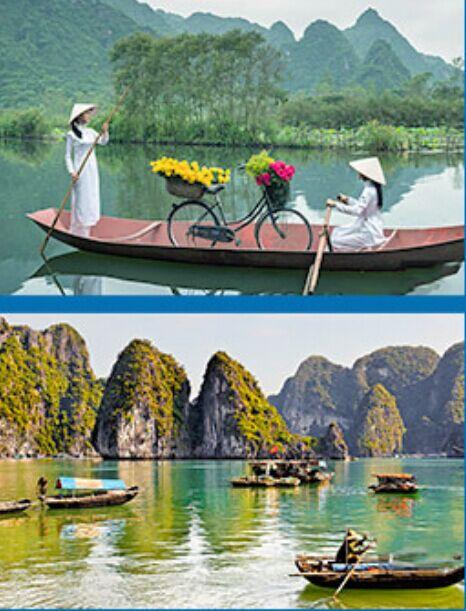 秀色越南-河内下龙湾海防6日游(含杂费)